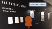 Church has an art gallery ??